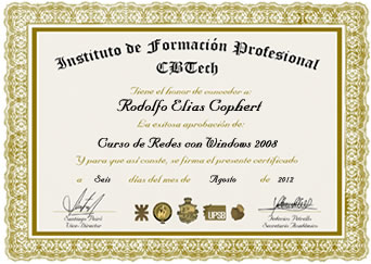 Certificado - Redes con Windows 2008